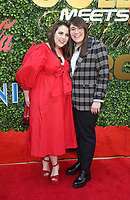 4 January 2020 - Beverly Hills, California - Beanie Feldstein, Bonnie Chance Roberts. the 7th Annual Gold Meets Golden Brunch  held at Virginia Robinson Gardens and Estate. Photo Credit: FS/AdMedia