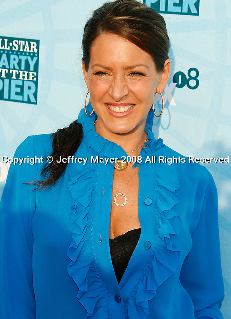 Actress Joely FIsher arrives at the Fox All-Star Party At The Pier at the Santa Monica Pier on July 14, 2008 in Santa Monica, California.