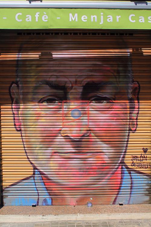 Street Art-Graffittis.<br /> Carrer de Pere IV<br /> Barcelona-Poblenou (Sant Marti).