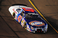 Apr 11, 2008; Avondale, AZ, USA; NASCAR Nationwide Series driver Kelly Bires during the Bashas Supermarkets 200 at the Phoenix International Raceway. Mandatory Credit: Mark J. Rebilas-