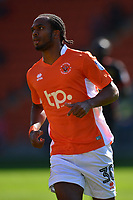 Blackpool's Nathan Delfouneso in action<br /> <br /> Photographer Richard Martin-Roberts/CameraSport<br /> <br /> The EFL Sky Bet League One - Blackpool v Milton Keynes Dons - Saturday August 12th 2017 - Bloomfield Road - Blackpool<br /> <br /> World Copyright &copy; 2017 CameraSport. All rights reserved. 43 Linden Ave. Countesthorpe. Leicester. England. LE8 5PG - Tel: +44 (0) 116 277 4147 - admin@camerasport.com - www.camerasport.com