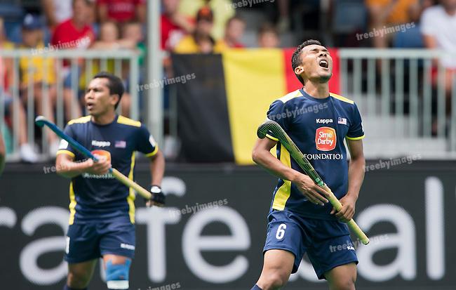05/07/2015<br /> HWL Semi Final Antwerp Belgium 2015<br /> Ireland v Malaysia Men 5-6<br /> Marhan Jalil<br /> Photo: Grant Treeby