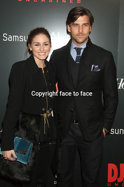 Olivia Palermo and Johannes Huebl at the Screening Of 'Django Unchained' at the Ziegfeld Theater on December 11, 2012 in New York City...Credit: MediaPunch/face to face..- Germany, Austria, Switzerland, Eastern Europe, Australia, UK, USA, Taiwan, Singapore, China, Malaysia and Thailand rights only -