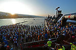 KONA, HAWAII - OCTOBER 14:  A general view of the Male Age Group Swim Start during the 2017 IRONMAN World Championships on October 12, 2017 in Kona, Hawaii. (Photo by Donald Miralle for IRONMAN)