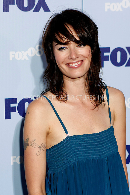 WWW.ACEPIXS.COM . . . . .  ....May 15, 2008. New York City.....Actress Lena Headey attend the Fox Network Upfront held at the Wollman Rink in Central Park.....Please byline: AJ Sokalner - ACEPIXS.COM.... *** ***..Ace Pictures, Inc:  ..Philip Vaughan (646) 769 0430..e-mail: info@acepixs.com..web: http://www.acepixs.com