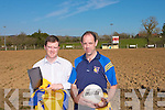 Ballymacelligott GAA club in Tralee is set for the future with the development of a new pitch underway at their grounds and aside from the pitch improvements the members can now keep up-date with the club with their new website which is now being updated on a regular basis. .L-R PRO Padraig Corkery and Chairman Bernard Cassidy