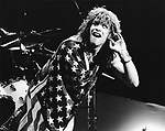 Bon Jovi 1985 Jon Bon Jovi.© Chris Walter.