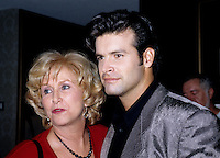 FILE PHOTO - Publicist Francine Chaloult and singer Rock Voisine circa 1997