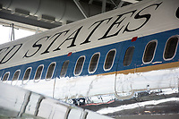 Air Force One at the Ronald Reagan Presidential Library in Simi Valley, CA. By Art Harman