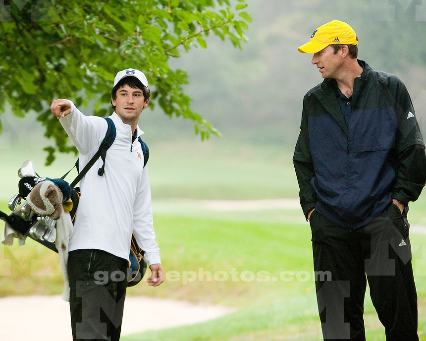 9/25/09 Michigan Wolverine Invitational at Radrick Farms Golf Club.