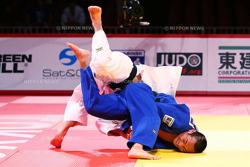 (L-R) Masashi Ebinuma (JPN),<br /> DECEMBER 4, 2015 - Judo : <br />  IJF Grand Slam Tokyo 2015 International Judo Tournament<br /> Men's -66kg Final <br /> at Tokyo Metropolitan Gymnasium, Tokyo, Japan. <br /> (Photo by Shingo Ito/AFLO SPORT)