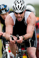 14 MAY 2010 - HOLME PIERREPONT, GBR - Tim Dunne - VUE National Emergency Services Triathlon Championships .(PHOTO (C) NIGEL FARROW)