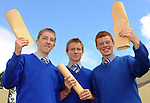 David Coffey and Eoghan O'Neill, Beaufort, and Shane O'Sullivan, Milltown,  with their Junior Cert results at Presentation Secondary School Milltown  on Wednesday.  Picture: Eamonn Keogh (MacMonagle, Killarney)