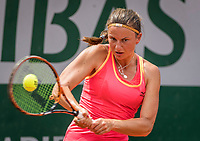 Paris, France, 29 May, 2017, Tennis, French Open, Roland Garros, Querine Lemoine (NED)<br /> Photo: Henk Koster/tennisimages.com