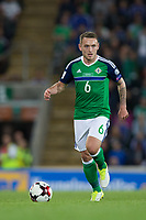 Northern Ireland's Lee Hodson in action     <br /> <br /> <br /> Photographer Craig Mercer/CameraSport<br /> <br /> FIFA World Cup Qualifying - European Region - Group C - Northern Ireland v Czech Republic - Monday 4th September 2017 - Windsor Park - Belfast<br /> <br /> World Copyright &copy; 2017 CameraSport. All rights reserved. 43 Linden Ave. Countesthorpe. Leicester. England. LE8 5PG - Tel: +44 (0) 116 277 4147 - admin@camerasport.com - www.camerasport.com