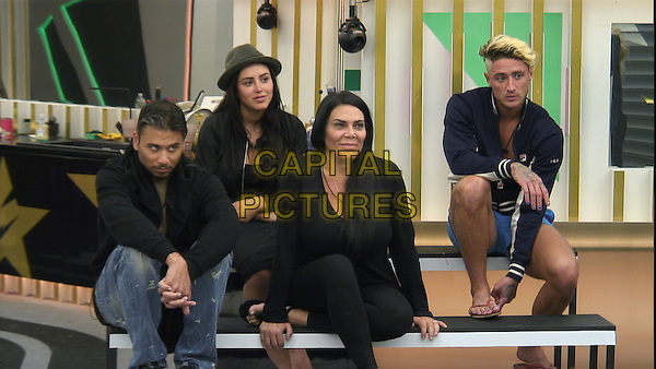 Celebrity Big Brother, Summer 2016, Day 23<br /> Housemates<br /> *Editorial Use Only*<br /> CAP/KFS<br /> Image supplied by Capital Pictures