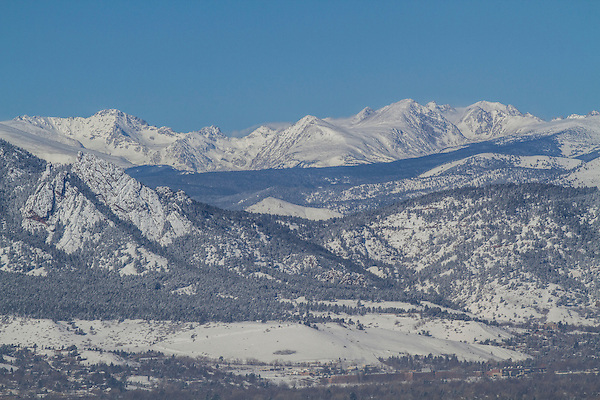 Overlooking Boulder Valley winter, Boulder, Colorado, Private guided tours to Indian Peaks. .  John leads private photo tours in Boulder and throughout Colorado. Year-round Boulder photo tours.