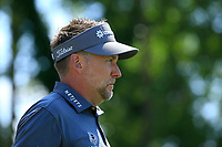 Ian Poulter (ENG) during the second round of The Northern Trust, Liberty National Golf Club, Jersey City, New Jersey, USA. 09/08/2019.<br /> Picture Michael Cohen / Golffile.ie<br /> <br /> All photo usage must carry mandatory copyright credit (© Golffile | Michael Cohen)