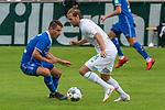 13.07.2019, Parkstadion, Zell am Ziller, AUT, FSP, Werder Bremen vs. Darmstadt 98<br /> <br /> im Bild / picture shows <br /> <br /> Fabian Schnellhardt (Darmstadt 98 #08)<br /> Niclas Füllkrug / Fuellkrug (Neuzugang Werder Bremen #11)<br /> Foto © nordphoto / Kokenge