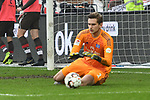 10.03.2019,  GER; 2. FBL, FC St. Pauli vs Hamburger SV ,DFL REGULATIONS PROHIBIT ANY USE OF PHOTOGRAPHS AS IMAGE SEQUENCES AND/OR QUASI-VIDEO, im Bild Einzelaktion Querformat Torhueter Julian Pollersbeck (Hamburg #01) Foto © nordphoto / Witke