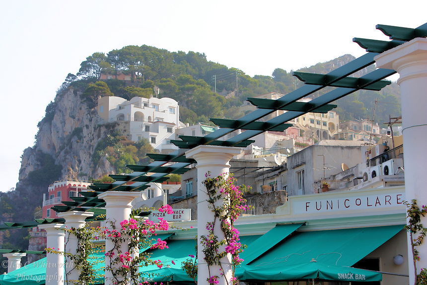 A view on the beautiful island of Capri