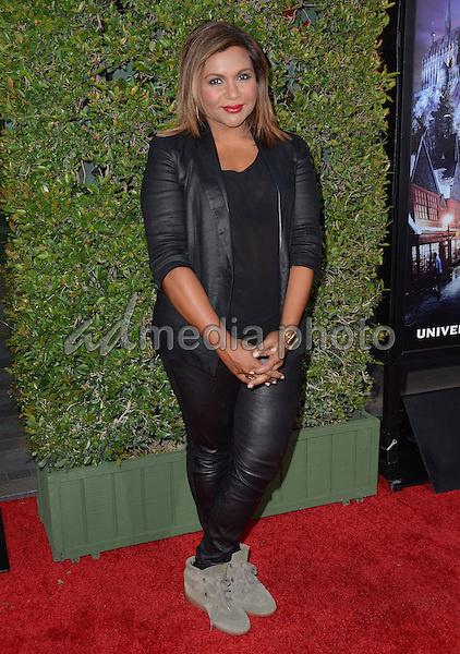 "05 April 2016 - Universal City, California - Mindy Kaling. Arrivals for Universal Studios' ""Wizarding World of Harry Potter Opening"" held at Universal Studios Hollywood. Photo Credit: Birdie Thompson/AdMedia"