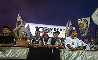 SAO PAULO, SP, 21.02.2017 - FUTEBOL-CORINTHIANS - Torcida acompanha durante o treino do Corinthians na Arena Corinthians, zona leste de São Paulo (SP), nesta terça-feira (21). A equipe se prepara para enfrentar o Palmeiras em partida válida pelo Campeonato Paulista 2017.<br /> (Foto: Danilo Fernandes/Brazil Photo Press)