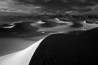Wind infused texture covers the massive sand dunes stretching across Death Valley National Park located in southern California. Photo/Andrew Shurtleff
