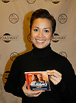 """As The World Turns Lea Salonga stars in the play """"Allegiance"""" and attends the first ever 3-day Broadway Con on January 22 - 24, 2016 at the Hilton Hotel, New York City, New York. (Photo by Sue Coflin/Max Photos)"""