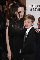 NEW YORK, NY - JANUARY 9: Angelina Jolie and Shiloh Nouvel Jolie-Pitt  at The National Board of Review Annual Awards Gala at Cipriani 42nd Street on January 9, 2018 in New York City. <br /> CAP/MPI99<br /> &copy;MPI99/Capital Pictures