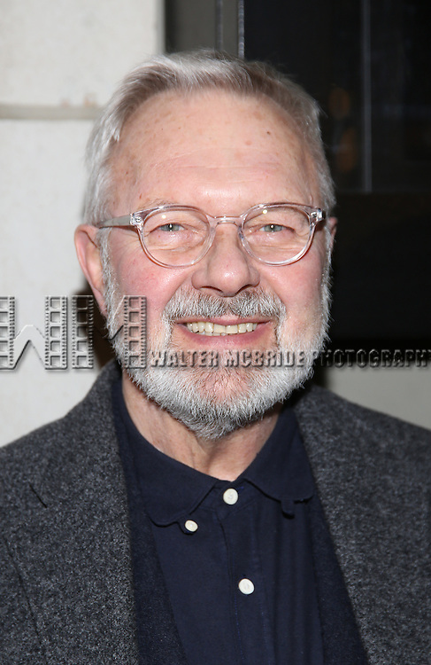 Walter Bobbie attend the Manhattan Theatre Club's Broadway debut of August Wilson's 'Jitney' at the Samuel J. Friedman Theatre on January 19, 2017 in New York City.