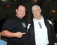 NEW YORK, NY - NOVEMBER 4: Jerry Lawler and Pat Patterson attends the Big Event NY at LaGuardia Plaza Hotel on November 4, 2017 in Queens, New York.  Credit: George Napolitano/MediaPunch /NortePhoto.com