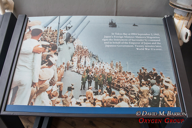 Photos At The Armistice Signing, The USS Missouri, Pearl Harbor