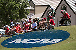 HOUSTON, TX - MAY 12: Fans gather around the 18th green to watch the final groups come in during the Division III Women's Golf Championship held at Bay Oaks Country Club on May 12, 2017 in Houston, Texas. (Photo by Rudy Gonzalez/NCAA Photos/NCAA Photos via Getty Images)