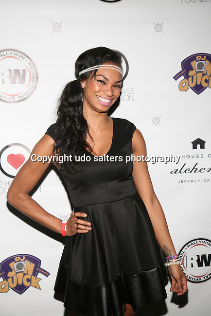Honoree KRYSTAL GARNER at DJ Jon Quick's 5th Annual Beauty and the Beat: Heroines of Excellence Awards Honoring AMBRE ANDERSON, DR. MEENA SINGH,<br /> JESENIA COLLAZO, SHANELLE GABRIEL, <br /> KRYSTAL GARNER, RICHELLE CAREY,<br /> DANA WHITFIELD, SHAWN OUTLER,<br /> TAMEKIA FLOWERS Held at Suite 36, NY