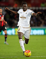 Eder of Swansea during the Barclays Premier League match between Swansea City and Bournemouth at the Liberty Stadium, Swansea on November 21 2015