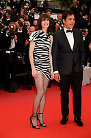 CANNES, FRANCE -  Javier Bardem and  Charlotte Gainsbourg attend 'The Dead don't Die' premeiere during the 72nd annual Cannes Film Festival on May 14, 2019 in Cannes, France. <br /> CAP/GOL<br /> &copy;GOL/Capital Pictures