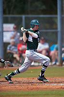 Michigan State Spartans first baseman Alex Troop (32) at bat during a game against the Illinois State Redbirds on March 8, 2016 at North Charlotte Regional Park in Port Charlotte, Florida.  Michigan State defeated Illinois State 15-0.  (Mike Janes/Four Seam Images)