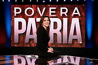 Journalist Annalisa Bruchi<br /> Rome January 24th 2019. The Italian Minister of Internal Affairs appears as a guest on the tv show Povera Italia.<br /> Foto Samantha Zucchi Insidefoto