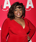 Da'Vine Joy Randolph attending the Opening Night After Party for the Atlantic Theater Company's 'What Rhymes with America' at Moran's in New York on December 12, 2012