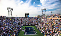 Ambience, Louis Armstrong Stadium<br /> Tennis - US Open  - Grand Slam -  Flushing Meadows  2013 -  New York - USA - United States of America - Thursday 30th August 2013. <br /> &copy; AMN Images, 8 Cedar Court, Somerset Road, London, SW19 5HU<br /> Tel - +44 7843383012<br /> mfrey@advantagemedianet.com<br /> www.amnimages.photoshelter.com<br /> www.advantagemedianet.com<br /> www.tennishead.net