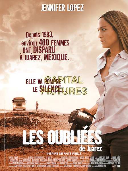FRENCH POSTER ART<br /> in Bordertown (2006) <br /> *Filmstill - Editorial Use Only*<br /> CAP/NFS<br /> Image supplied by Capital Pictures
