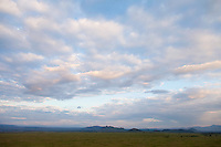 Evening clouds over the Soysambu Ranch, Great Rift Valley, Kenya