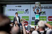 stage winner Gregor M&uuml;hlberger (AUT/Bora Hansgrohe) <br /> <br /> Binckbank Tour 2018 (UCI World Tour)<br /> Stage 6: Riemst (BE) - Sittard-Geleen (NL) 182,2km