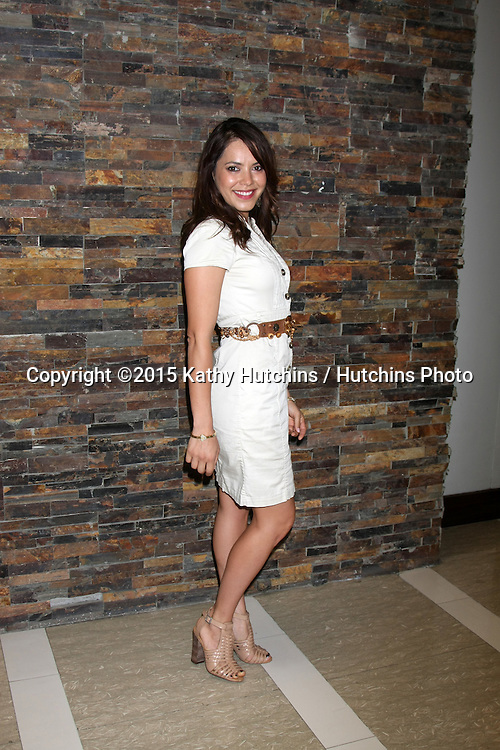 LOS ANGELES - AUG 8:  Linda Elena Tovar at the General Hospital Fan Club Luncheon Arrivals at the Embassy Suites Hotel on August 8, 2015 in Glendale, CA