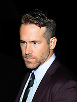 NEW YORK, NY - September 10: Ryan Reynolds Arrives at The World Premiere of 'A Simple Favor' on September 10, 2018 in New York City, USA.<br /> CAP/MPI/JP<br /> &copy;JP/MPI/Capital Pictures