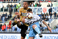 William Ekong of Udinese , Francesco Acerbi of Lazio <br /> Roma 17-4-2019 Stadio Olimpico Football Serie A 2018/2019 SS Lazio - Udinese <br /> Foto Andrea Staccioli / Insidefoto