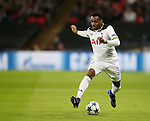 Tottenham's Danny Rose in action during the Champions League group match at Wembley Stadium, London. Picture date December 7th, 2016 Pic David Klein/Sportimage