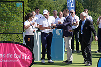 Robin Roussel (FRA) at prizegiving after the final round of the Hauts de France-Pas de Calais Golf Open, Aa Saint-Omer GC, Saint- Omer, France. 16/06/2019<br /> Picture: Golffile | Phil Inglis<br /> <br /> <br /> All photo usage must carry mandatory copyright credit (© Golffile | Phil Inglis)