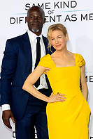 """LOS ANGELES - OCT 12:  Djimon Hounsou, Renee Zellweger at the """"Same Kind of Different as Me"""" Los Angeles Premiere at the Village Theater on October 12, 2017 in Westwood, CA"""